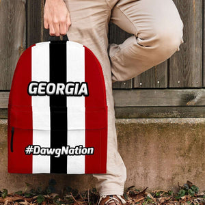 Designs by MyUtopia Shout Out:#DawgNation Georgia Backpack