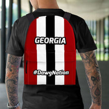 Load image into Gallery viewer, Designs by MyUtopia Shout Out:#DawgNation Georgia Backpack