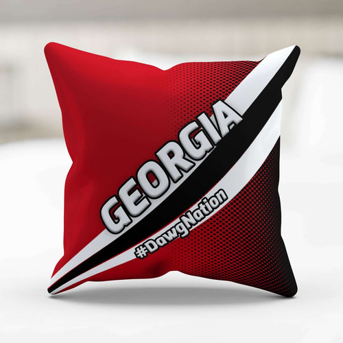 Designs by MyUtopia Shout Out:#DawgNation Georgia Pillowcase