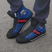 Load image into Gallery viewer, Designs by MyUtopia Shout Out:Diehard Buffalo Fan Canvas High Top Shoes