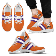 Load image into Gallery viewer, Designs by MyUtopia Shout Out:Diehard Clemson Fan Running Shoes