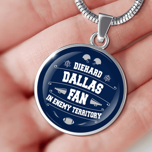 Designs by MyUtopia Shout Out:Diehard Dallas Fan In Enemy Territory Handcrafted Jewelry