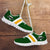 Designs by MyUtopia Shout Out:Diehard Green Bay Fan Running Shoes,Kid's / 11 CHILD (EU28) / Green/Yellow,Running Shoes
