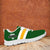 Designs by MyUtopia Shout Out:Diehard Green Bay Fan Running Shoes