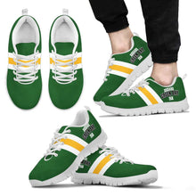 Load image into Gallery viewer, Designs by MyUtopia Shout Out:Diehard Green Bay Fan Running Shoes