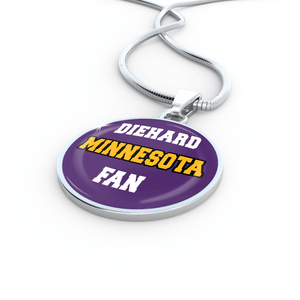 Designs by MyUtopia Shout Out:Diehard Minnesota Fan Handcrafted Jewelry