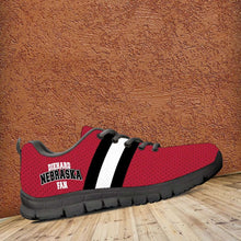 Load image into Gallery viewer, Designs by MyUtopia Shout Out:Diehard Nebraska Fan Running Shoes