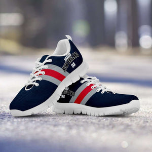 Designs by MyUtopia Shout Out:Diehard New England Fan Running Shoes