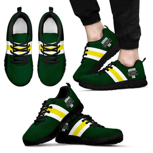 Designs by MyUtopia Shout Out:Diehard Oregon Fan Running Shoes