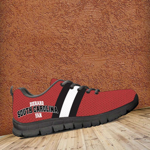 Designs by MyUtopia Shout Out:Diehard South Carolina Fan Running Shoes