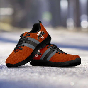 Designs by MyUtopia Shout Out:Diehard Syracuse Fan Running Shoes