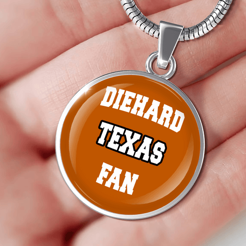 Designs by MyUtopia Shout Out:Diehard Texas Fan Handcrafted Jewelry - UTEXCF