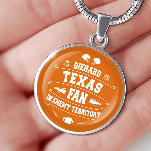 Designs by MyUtopia Shout Out:Diehard Texas Fan In Enemy Territory Handcrafted Jewelry