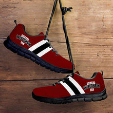 Load image into Gallery viewer, Designs by MyUtopia Shout Out:Diehard Wisconsin Fan Running Shoes,Kid's / 11 CHILD (EU28) / Cardinal Red,Running Shoes