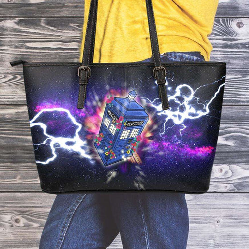 Designs by MyUtopia Shout Out:Doctor Who 13th Doctor Faux Leather Totebag Purse