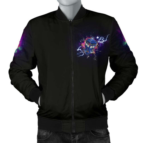 Designs by MyUtopia Shout Out:Doctor Who 13th Doctor Men's Bomber Jacket