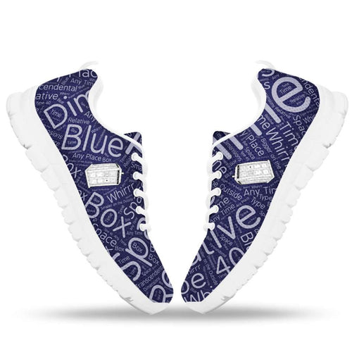 Designs by MyUtopia Shout Out:Doctor Who Tardis Running Sneakers