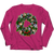 Designs by MyUtopia Shout Out:Droid Wreath Unisex Shirts,Long Sleeve / Pink / 4XL,Unisex Shirt
