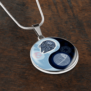 Designs by MyUtopia Shout Out:Falcon Death Star Ying Yang Handcrafted Jewelry