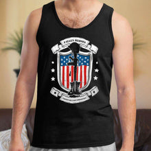 Load image into Gallery viewer, Designs by MyUtopia Shout Out:Fallen Heroes Fallen but Not Forgotten Unisex Tank