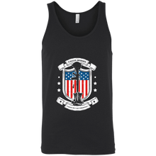 Load image into Gallery viewer, Designs by MyUtopia Shout Out:Fallen Heroes Fallen but Not Forgotten Unisex Tank,X-Small / Black,Tank Tops