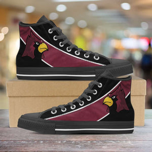 Designs by MyUtopia Shout Out:Fan Art Arizona Cardinals Canvas High Top Shoes