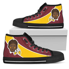 Load image into Gallery viewer, Designs by MyUtopia Shout Out:Fan Art Washington Redskins Canvas High Top Shoes