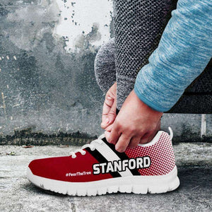 Designs by MyUtopia Shout Out:#FearTheTree Stanford Fan Running Shoes