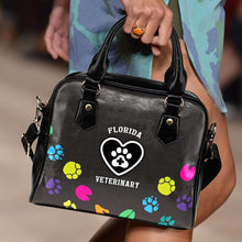 Load image into Gallery viewer, Designs by MyUtopia Shout Out:FL Veterinary Faux Leather Handbag with Shoulder Strap