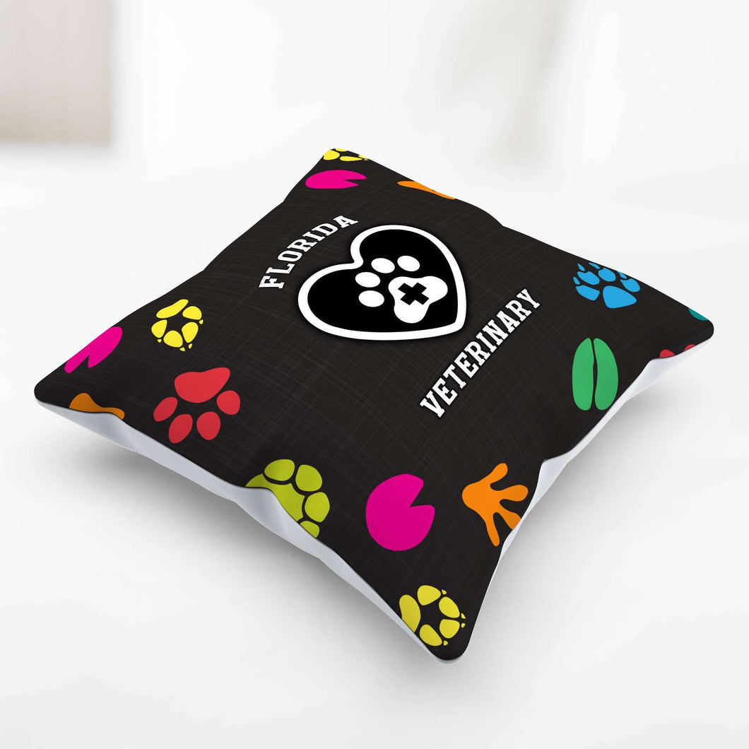 Designs by MyUtopia Shout Out:Florida Veterinary Pillowcase