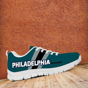 Designs by MyUtopia Shout Out:#FlyingHigh Philadelphia Fan Running Shoes