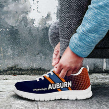 Load image into Gallery viewer, Designs by MyUtopia Shout Out:#FlyWarEagle Auburn Fan Running Shoes