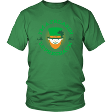 Load image into Gallery viewer, Designs by MyUtopia Shout Out:Freakin' Leprechaun T-Shirt,Kelly Green / S,Adult Unisex T-Shirt