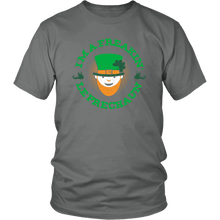 Load image into Gallery viewer, Designs by MyUtopia Shout Out:Freakin' Leprechaun T-Shirt,Grey / S,Adult Unisex T-Shirt