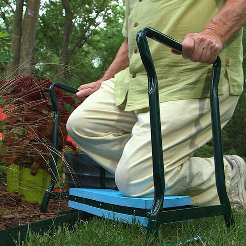 Designs by MyUtopia Shout Out:Garden Joy 2 in 1 Kneeling Pad and Seat, the Ultimate Garden Tool that Makes Gardening Fun Again