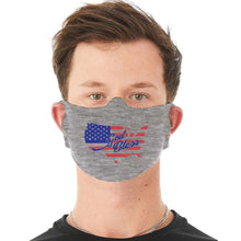 Load image into Gallery viewer, Designs by MyUtopia Shout Out:God Bless America Fabric Face Covering / Face Mask