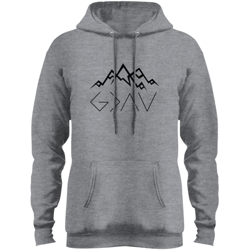 Designs by MyUtopia Shout Out:God is Greater than My Highs and Lows John 16:33 Core Fleece Pullover Hoodie,Athletic Heather / S,Sweatshirts
