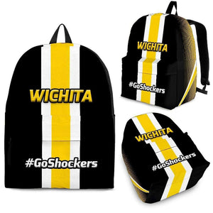 Designs by MyUtopia Shout Out:#GoShockers Wichita Backpack