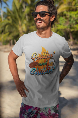 Designs by MyUtopia Shout Out:Grillin' and Chillin' Ultra Cotton T-Shirt