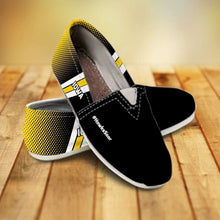 Load image into Gallery viewer, Designs by MyUtopia Shout Out:#HawksSoar Iowa Casual Canvas Slip on Shoes Women's Flats