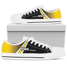 Load image into Gallery viewer, Designs by MyUtopia Shout Out:#HawksSoar Iowa Lowtop Shoes