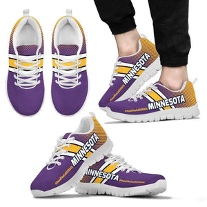 Designs by MyUtopia Shout Out:#HeedTheCallOfSkol Minnesota Fan Running Shoes v2