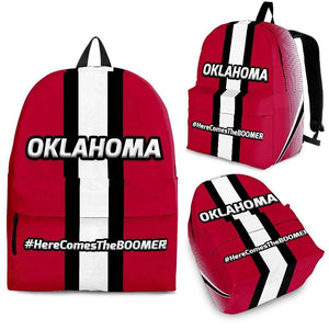 Designs by MyUtopia Shout Out:#HereComesTheBoomer Oklahoma Backpack