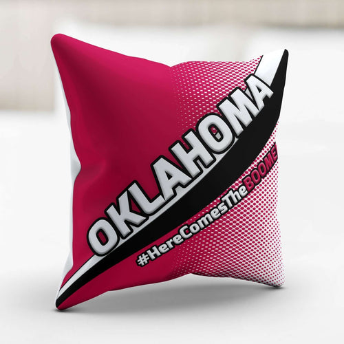 Designs by MyUtopia Shout Out:#HereComesTheBoomer Oklahoma Pillowcase