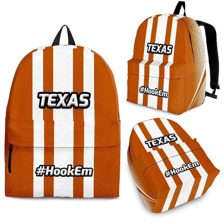 Designs by MyUtopia Shout Out:#HookEm Texas Backpack