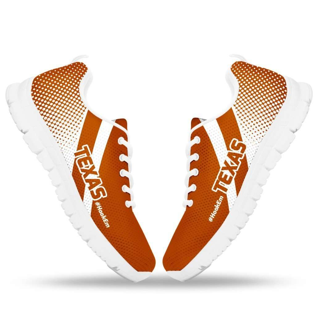Designs by MyUtopia Shout Out:#HookEm Texas Fan Running Shoes