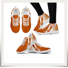 Load image into Gallery viewer, Designs by MyUtopia Shout Out:#HookEm Texas Fan Running Shoes