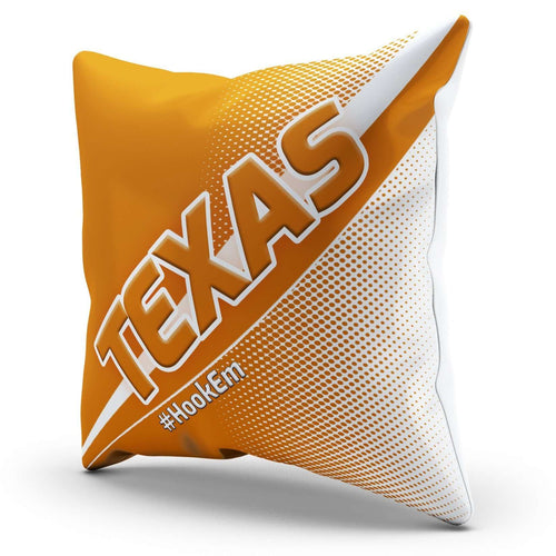 Designs by MyUtopia Shout Out:#HookEm Texas Pillowcase