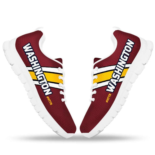 Designs by MyUtopia Shout Out:#HTTR Washington Redskins Fan Running Shoes