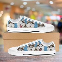 Load image into Gallery viewer, Designs by MyUtopia Shout Out:Huskies Low Cuts